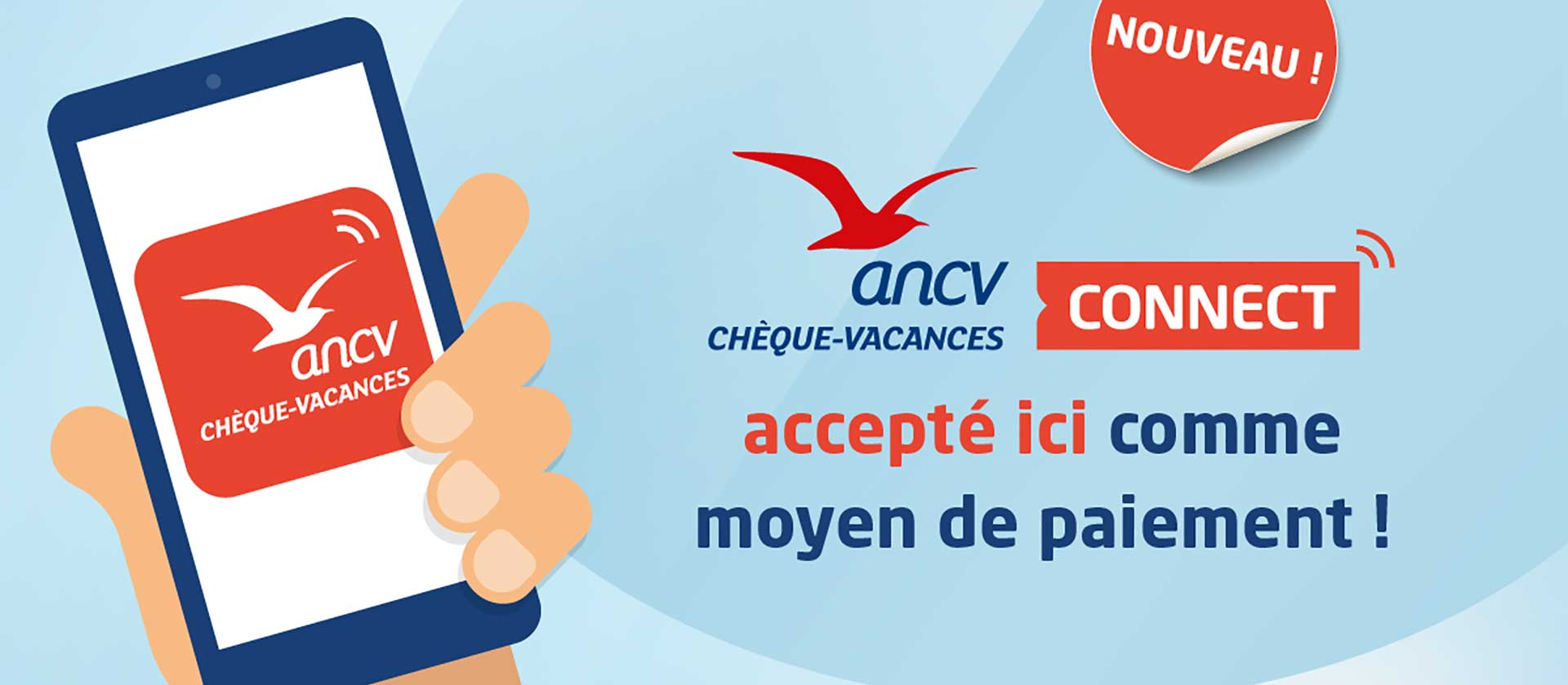 ANCV CHEQUES VACANCES CONNECT